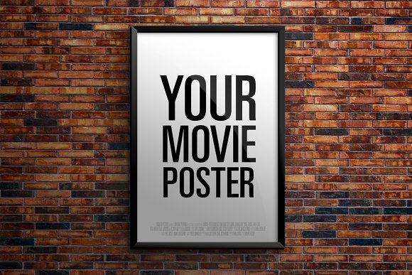 Free Theatrical Movie Poster - Mockup