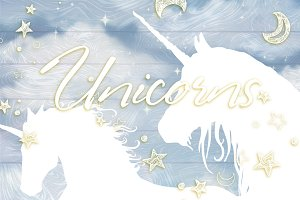 Unicorns - set 2.