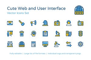 250+ Web and User Interface Icons