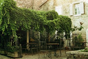 old café