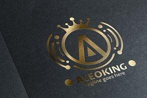 Aleo King (Letter A) Logo