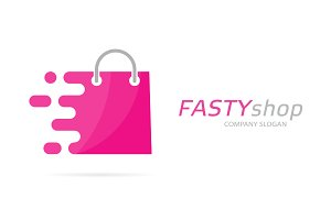 Fast package logo combination
