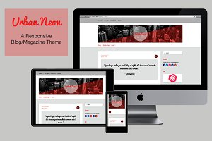 UrbanNeon v1.0 WordPress Theme
