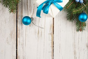 Christmas background decorations
