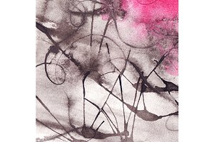 Watercolor ink abstract texture