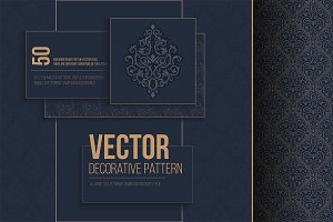 Vector ornament in vintage style.