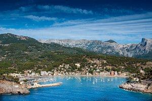 Bay in Spain
