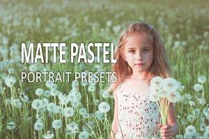10 Matte Pastel Portrait Presets