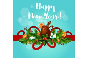 Happy New Year greeting best wishes