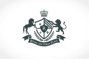 Royal Victoria Place Logo