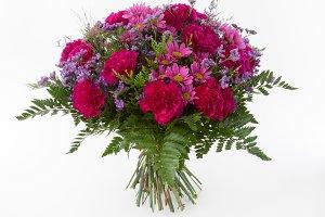 Carnation flowers bouquet