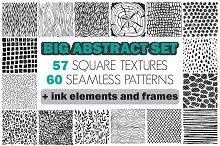 Big abstract textures set