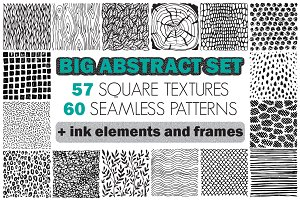 Big abstract textures set