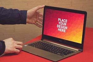 Acer Laptop Mock-up#7