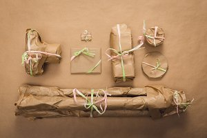 Wrapped photo gifts