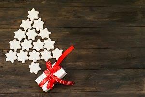 Stylized design Christmas tree