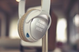 Headphones Mock-up#2