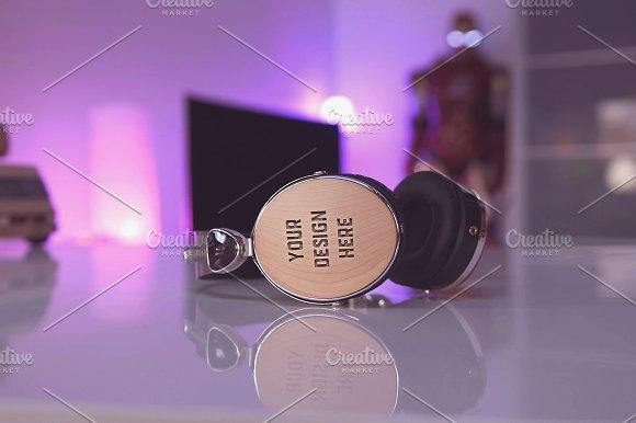 Headphones Mock-up#9