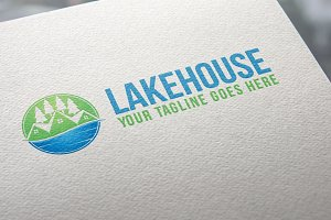 Lake House | Logo Template