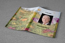 Funeral Program Template-T633