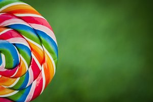 Colorfully lollipop