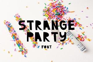 Strange Party | Font