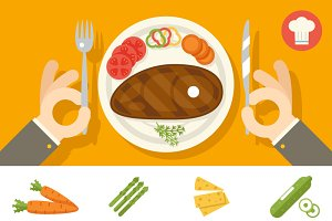 Plate Food