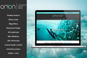 Orion - Responsive WordPress Theme