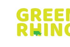 Clean Bright rhinoceros logo