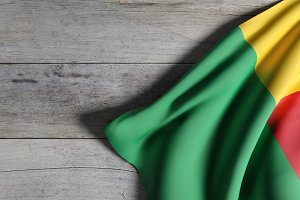 Benin flag