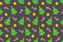 Seamless vector christmas pattern