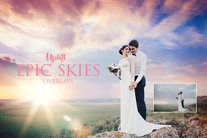 SALE! EPIC Skies Cloud Overlays