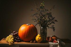 Thanksgiving still life