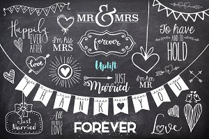 Happily Ever After Wedding Overlays