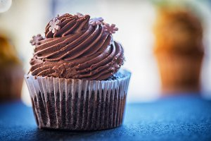 Chocolate cupcakes desert