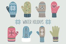 Vintage Mittens Collection