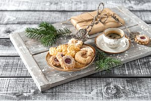 Christmas cookies Coffee