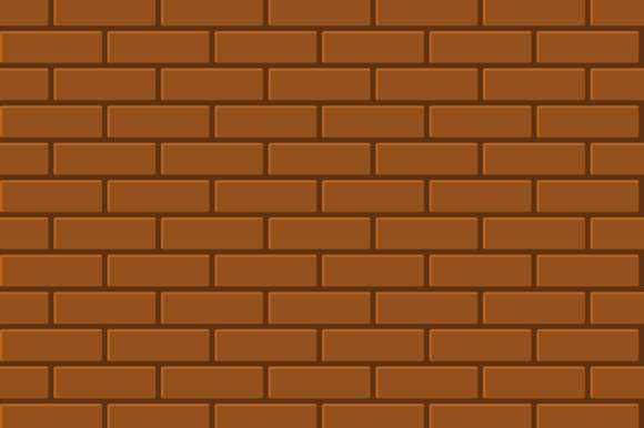 Seamless Pattern Of Brick
