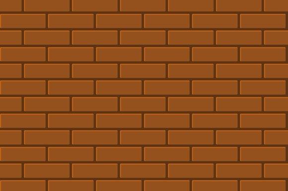 Seamless Pattern Of Brick