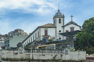 Antique Church Rio de Janeiro Brazil