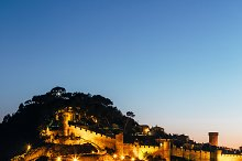 Tossa de Mar night - Costa Brava