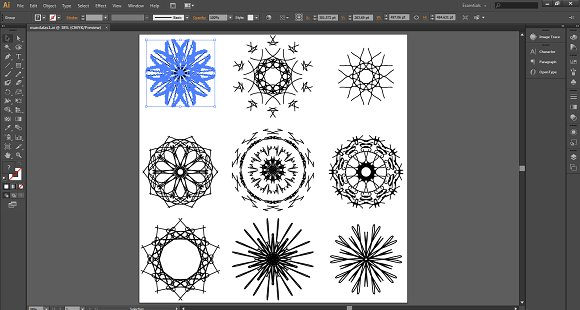 Mandala Collection in Illustrations - product preview 2