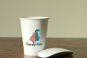 Carely Pets Logo Template