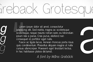 Greback Grotesque