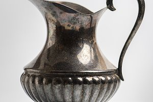 Ancient metal vase
