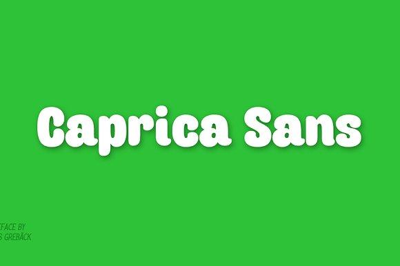Caprica Sans