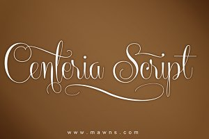 Centeria Script