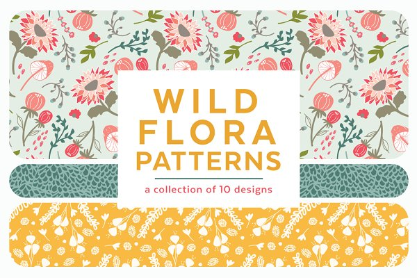 Wild Flora Patterns