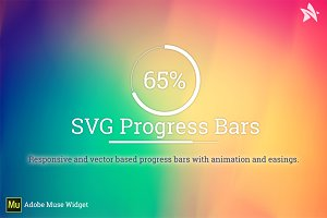 SVG ProgressBar - Adobe Muse Widget