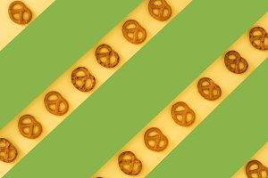 Many pretzels